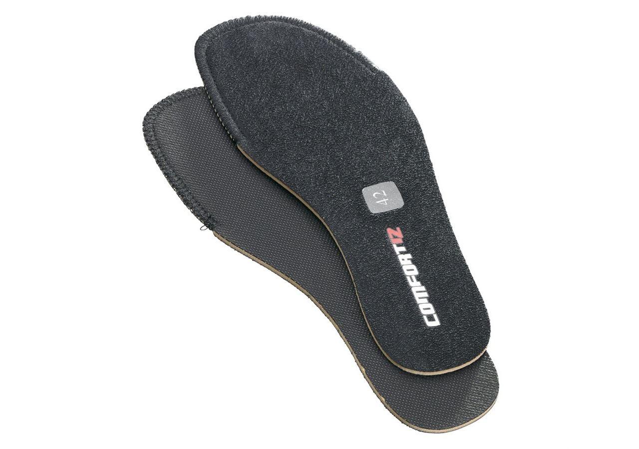 Inlegzool: Reserve-inlegzool Comfort12 + zwart