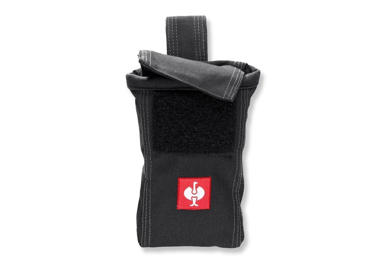 Accessoires: Gsm-zakje e.s.roughtough + zwart
