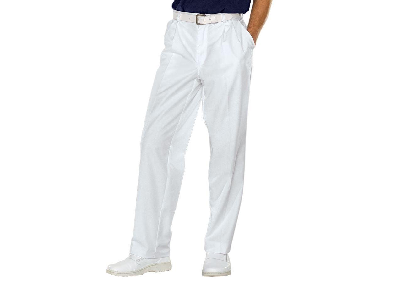 Hosen: Herrenberufshose Tom + weiß