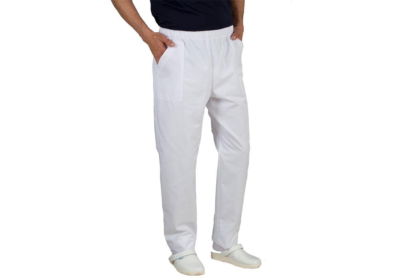 Hosen: Schlupfhose Lanzarote + weiß