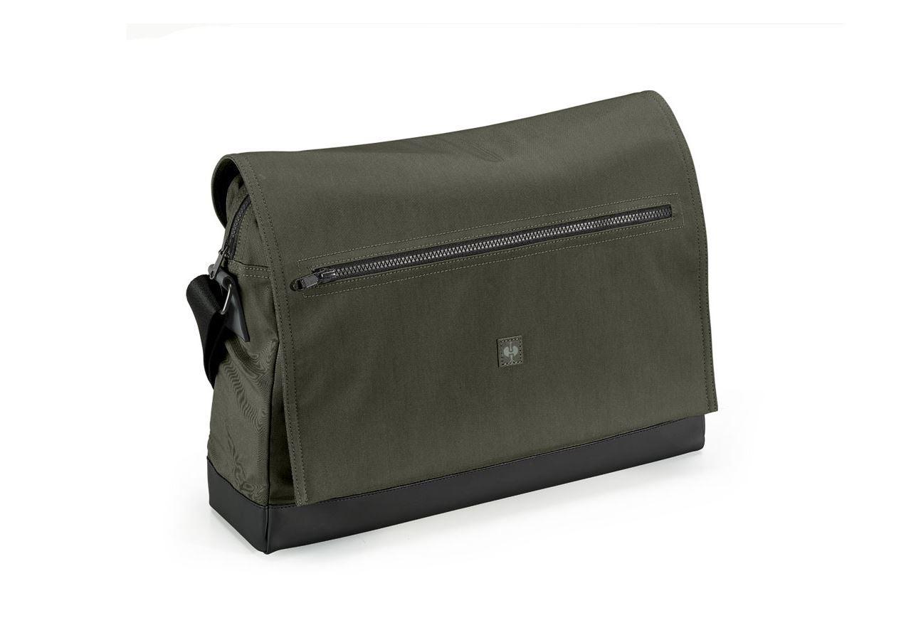 Accessoires: Messenger Bag e.s.motion ten + camouflagegroen