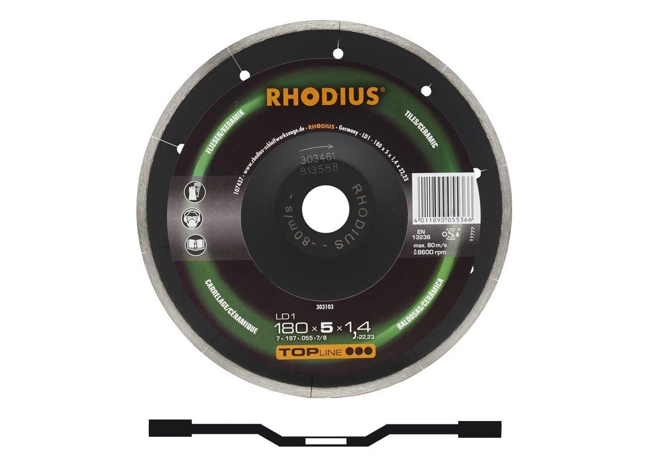 Trennscheiben: Rhodius Diamant-Trennscheibe für Steinbearbeitung