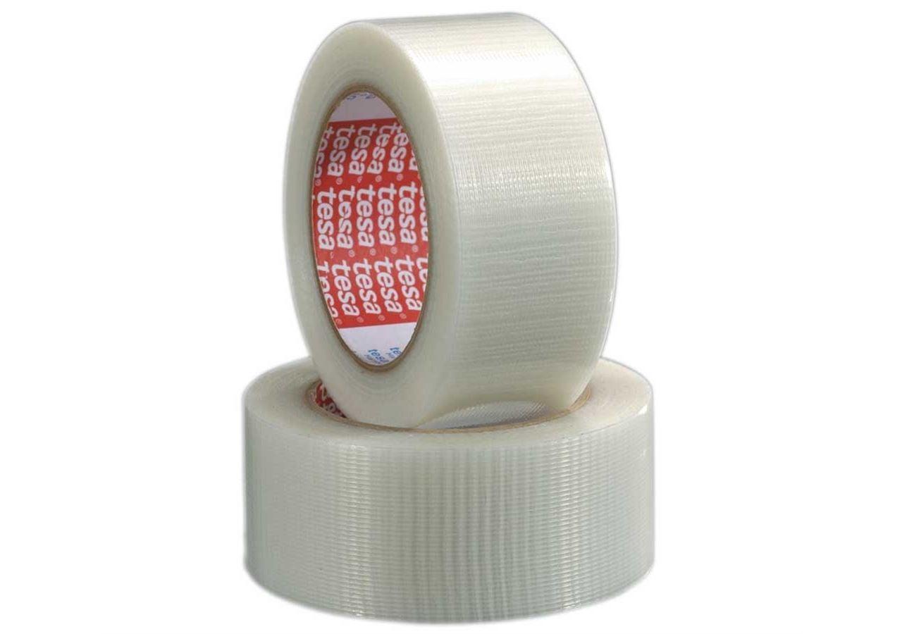 Textielversterkte tapes: tesa-weefselband 4665, transparant
