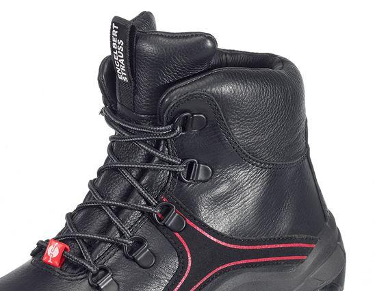 S3: e.s. S3 Veiligheidsschoenen Matar + zwart/rood 2