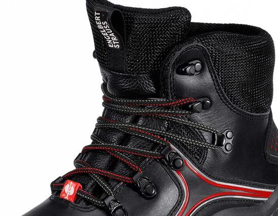 S3: e.s. S3 Veiligheidsschoenen Avior + zwart/rood 2