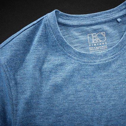 Bovenkleding: T-Shirt e.s.vintage + arctisch blauw melange 2