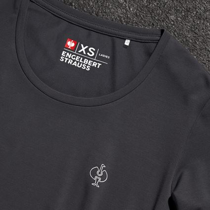 Bovenkleding: Modal-shirt e.s. ventura vintage, dames + zwart 2
