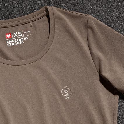 Bovenkleding: Modal-shirt e.s. ventura vintage, dames + ombergrijs 2