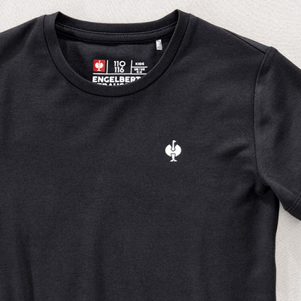 Bovenkleding: Modal-shirt e.s. ventura vintage, kinderen + zwart 2
