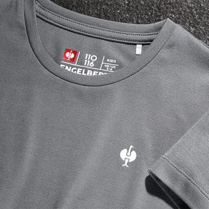 Bovenkleding: Modal-shirt e.s. ventura vintage, kinderen + bazaltgrijs 2