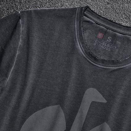 Shirts & Co.: T-Shirt e.s.motion ten ostrich + oxidschwarz vintage 2