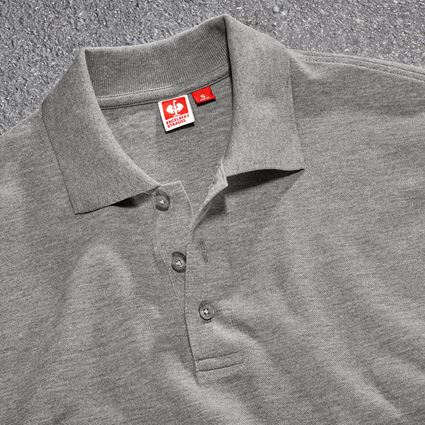 Bovenkleding: Pique-Polo e.s.industry + grijs mêlee 2