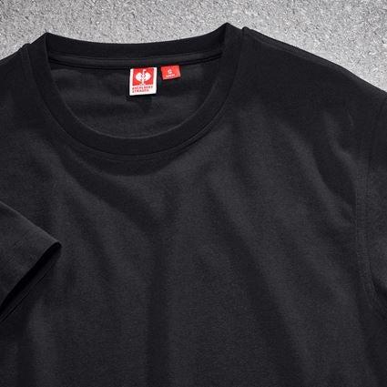 Shirts & Co.: T-Shirt e.s.industry + schwarz 2