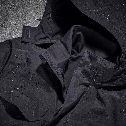 Werkjassen: Regenjack e.s.concrete + zwart 2