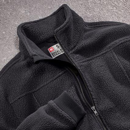 Werkjassen: Fleecevachtjack e.s.vintage + zwart 2