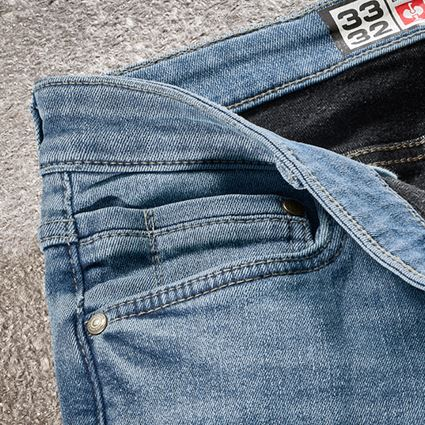 Werkbroeken: e.s. Winter stretch-jeans met 5 zakken + stonewashed 2
