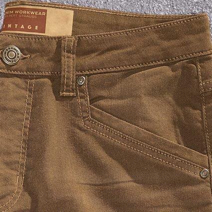 Werkbroeken: 5-pocket Broek e.s.vintage + sepia 2