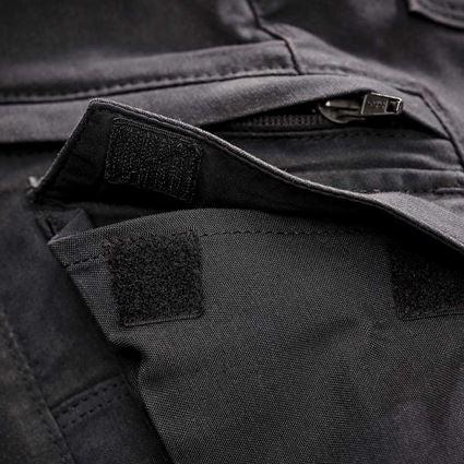 Werkbroeken: Cargobroek e.s.vintage, dames + zwart 2