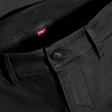 Werkbroeken: e.s. 5-pocket-werkbroek chino + zwart 2