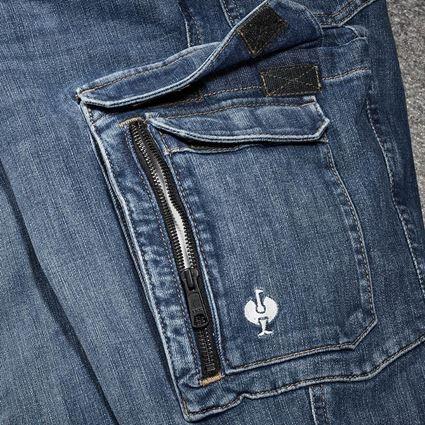 Werkbroeken: cargo worker-jeans e.s.concrete + stonewashed 2