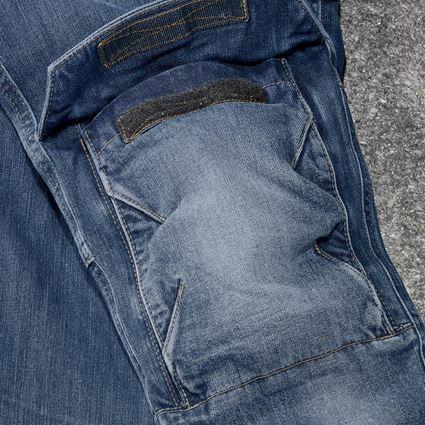 Werkbroeken: cargo worker-jeans e.s.concrete, dames + stonewashed 2