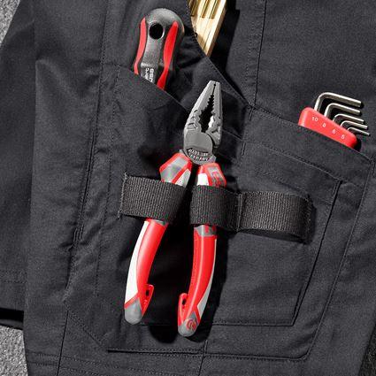 Werkbroeken: Short e.s.concrete light + zwart 2