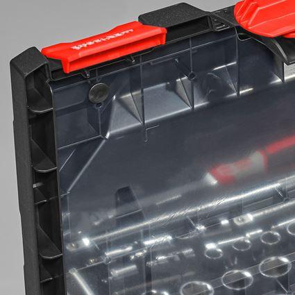 Werkzeugkoffer: Deckelfolie inkl. Pins STRAUSSbox midi+ 2