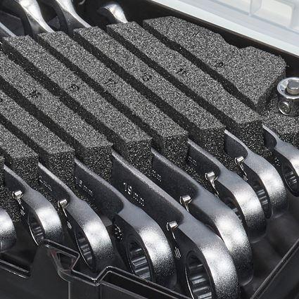 Schroefsleutels: Ratsch-Tech-set omschakelbaar in STRAUSSbox mini 2
