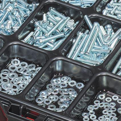 Schroeven: Zelftappende schroeven, ISO 1207 in STRAUSSbox 118 2