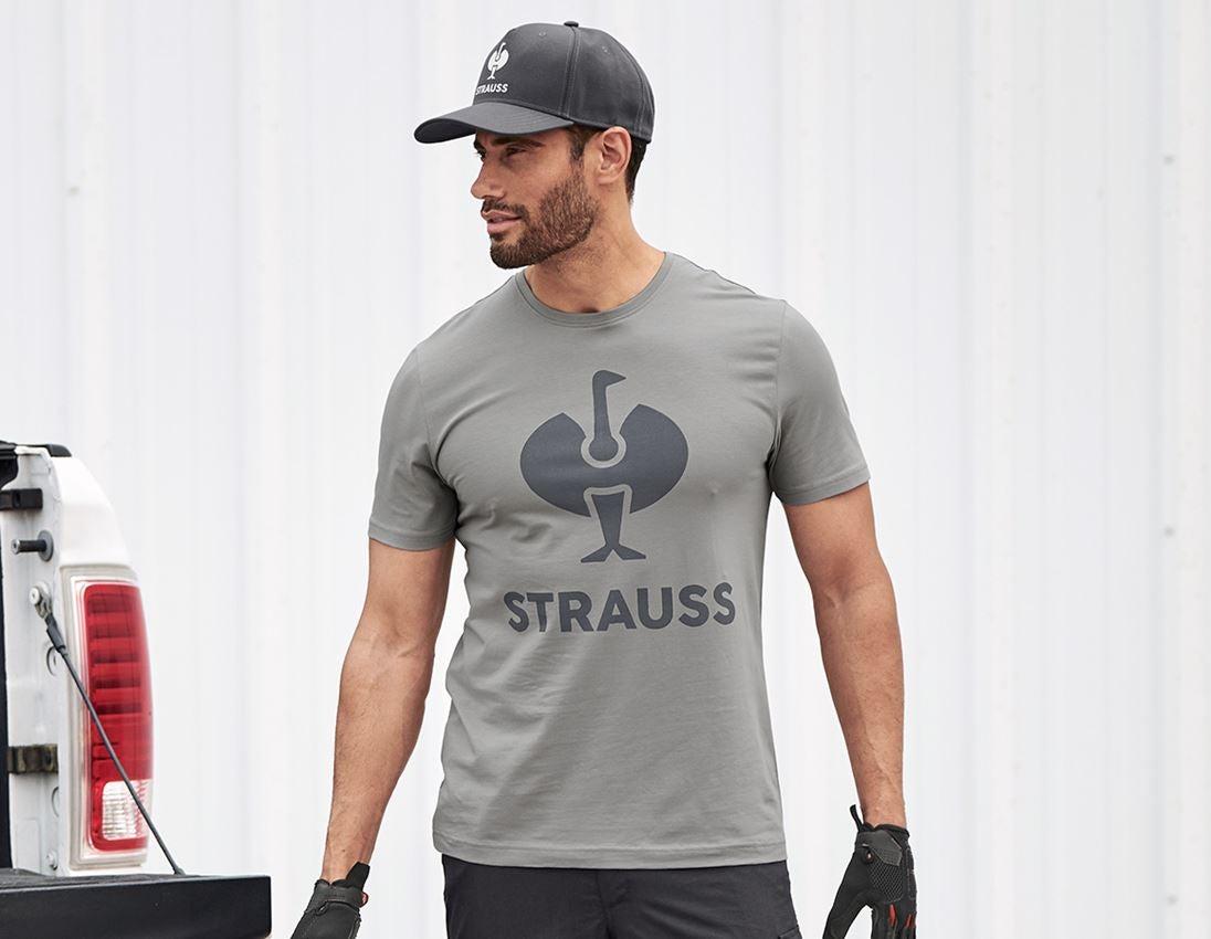 Bovenkleding: T-Shirt e.s.concrete + parelgrijs