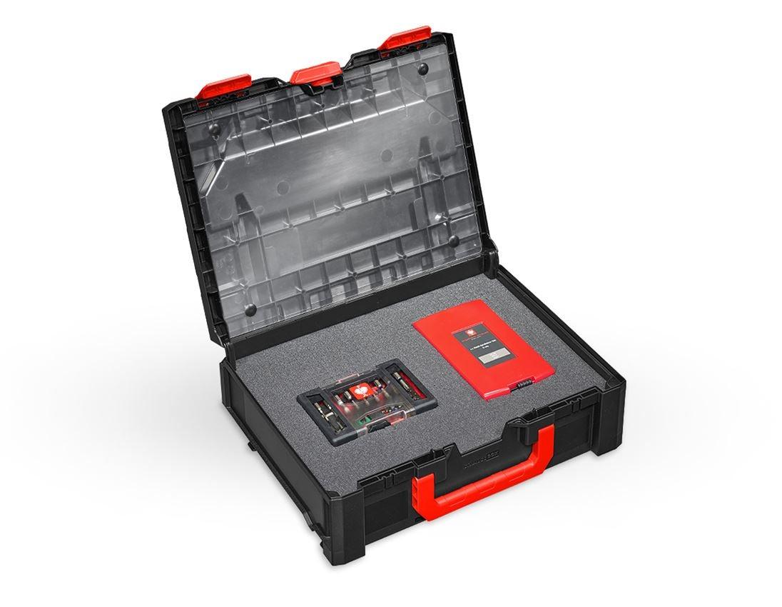 Werkzeugkoffer: Deckelfolie inkl. Pins STRAUSSbox midi+