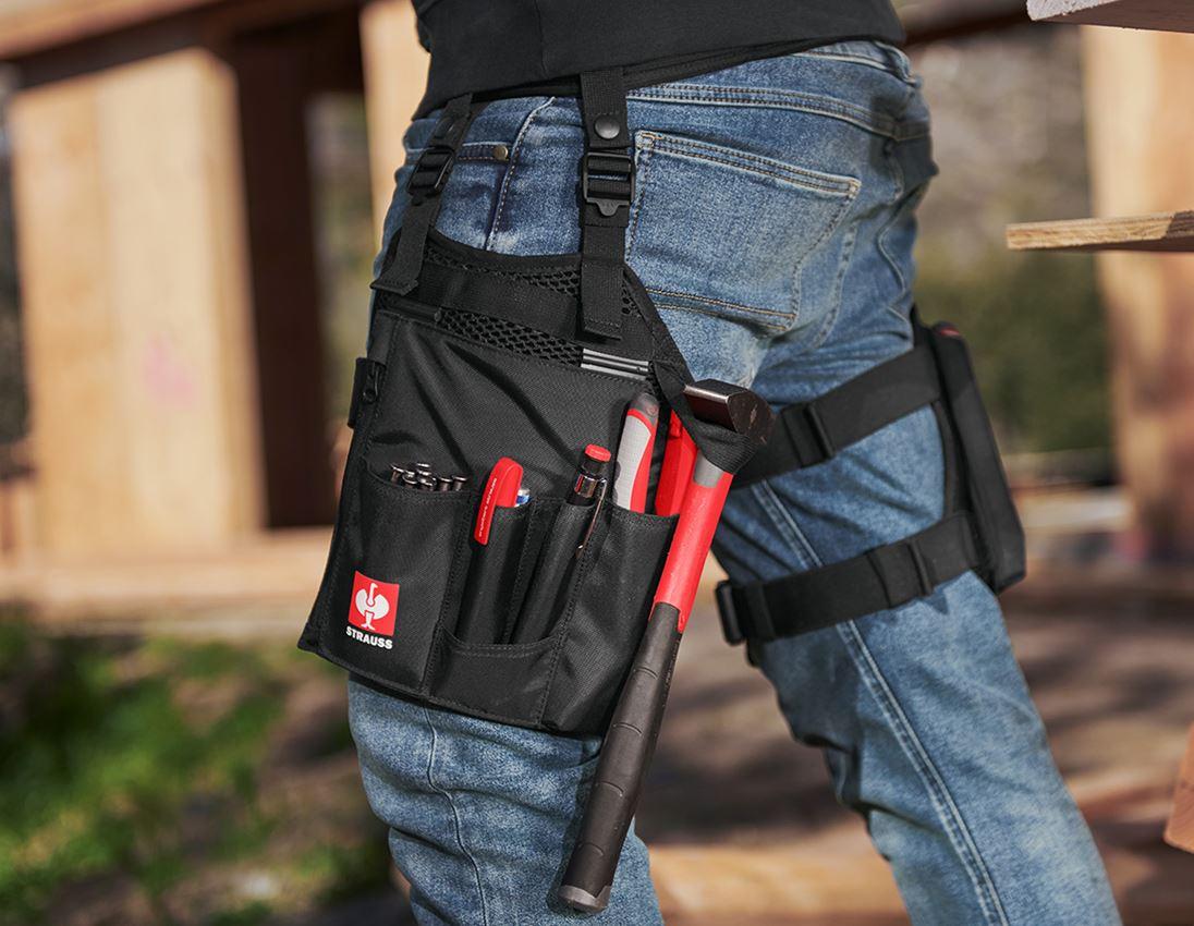 Accessoires: e.s. gereedschapstassenset Legpack + zwart