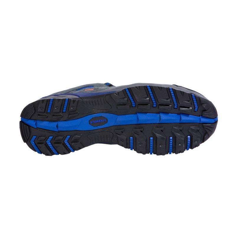 S1P: STONEKIT S1P Halfhoge veiligheidsschoen Ascona + grijs/blauw 2