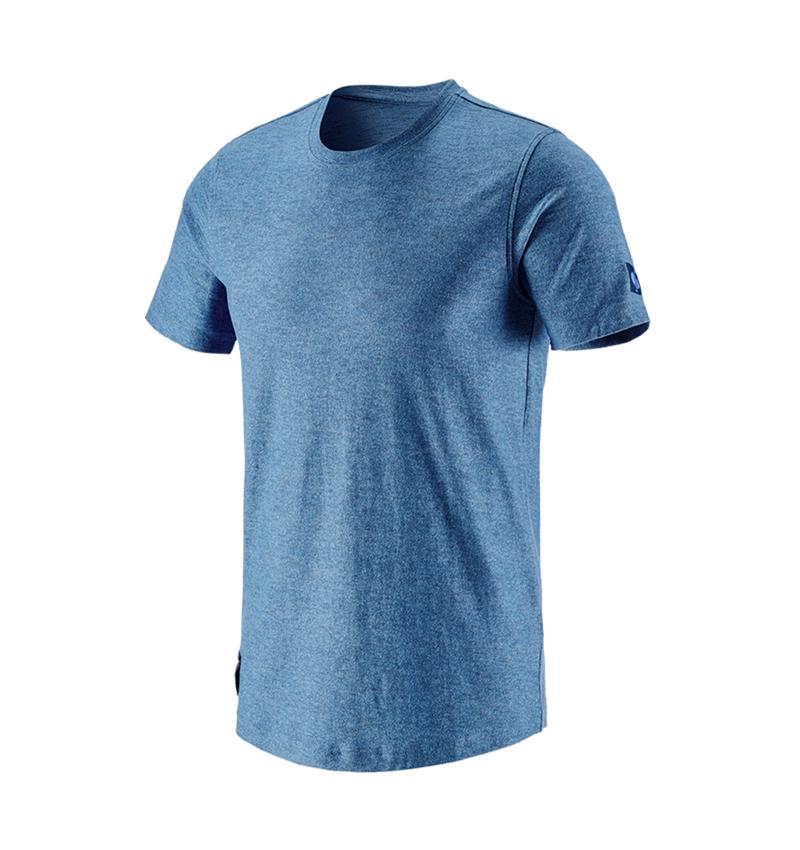 Bovenkleding: T-Shirt e.s.vintage + arctisch blauw melange