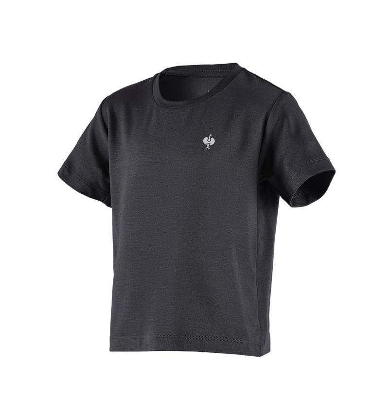 Bovenkleding: Modal-shirt e.s. ventura vintage, kinderen + zwart