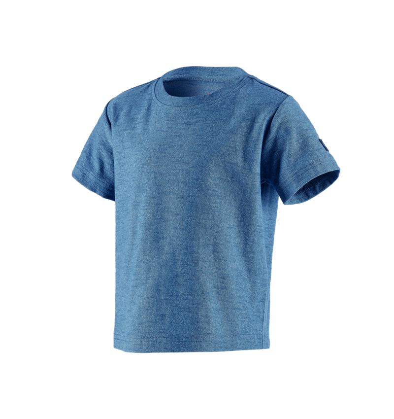 Bovenkleding: T-Shirt e.s.vintage, kinderen + arctisch blauw melange