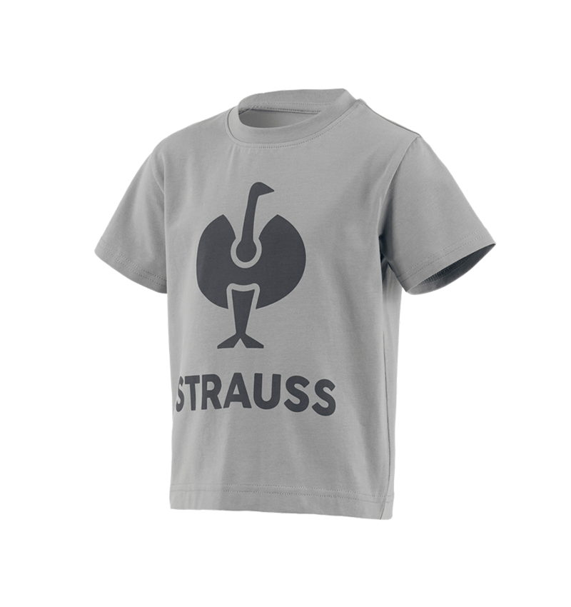 Bovenkleding: T-Shirt e.s.concrete, kinderen + parelgrijs