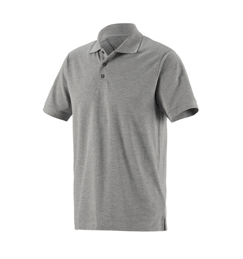 Bovenkleding: Pique-Polo e.s.industry + grijs mêlee
