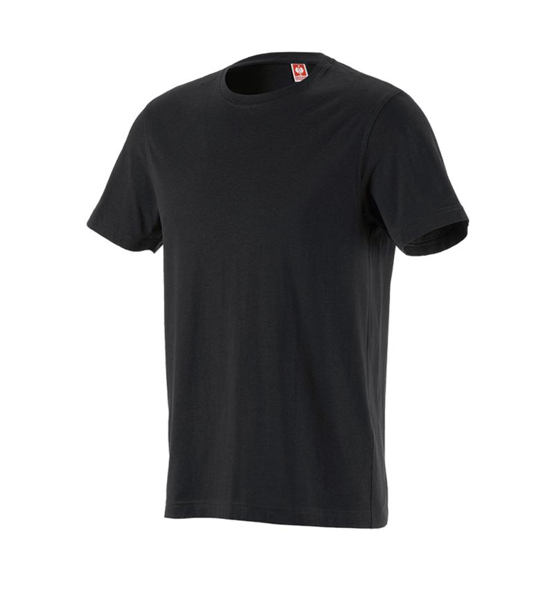 Shirts & Co.: T-Shirt e.s.industry + schwarz