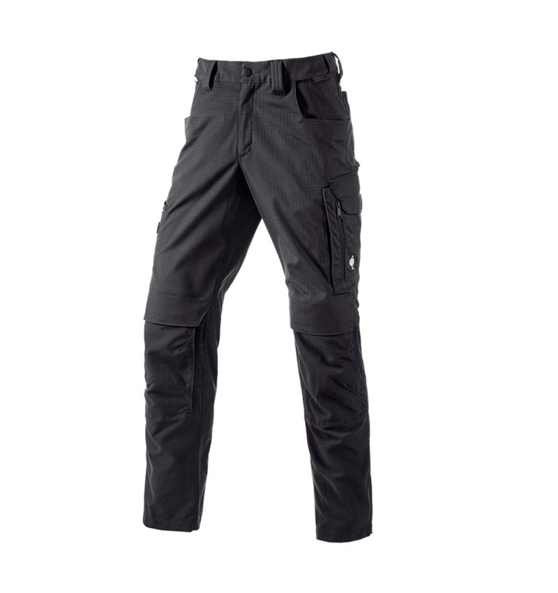 Werkbroeken: Werkbroek e.s.concrete solid + zwart