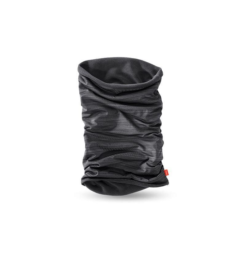 Accessoires: e.s. Multifunctionele doek van microfleece + zwart