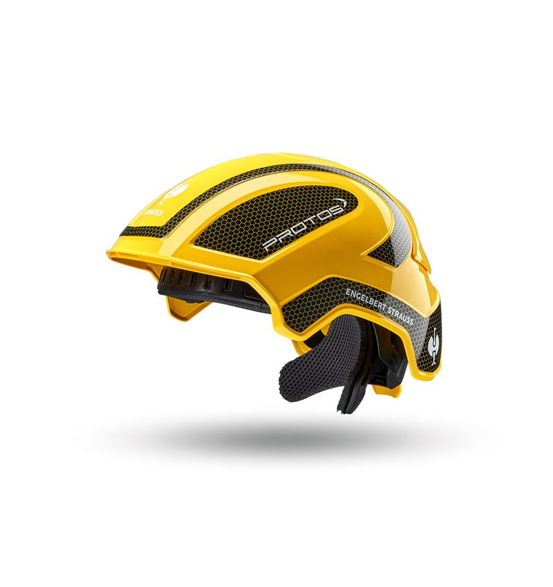Schutzhelme: e.s. Arbeitshelm Protos® + gelb/schwarz