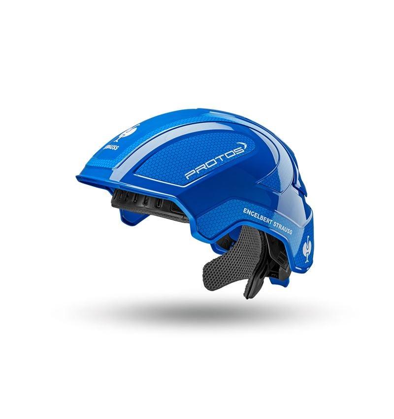 Schutzhelme: e.s. Arbeitshelm Protos® + blau/enzianblau