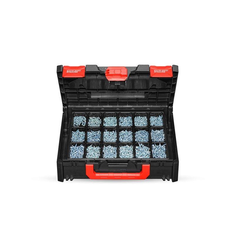 Schroeven: Boorschroeven, DIN 7504 M-H STRAUSSbox 118 midi