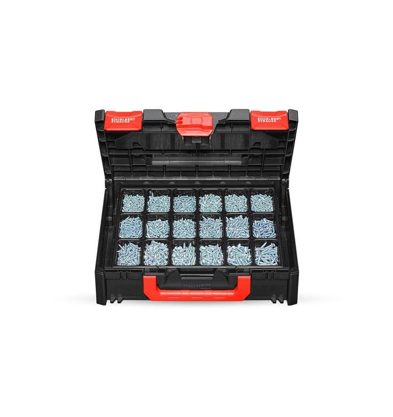 Schroeven: Plaatschroeven DIN 7981 verz. STRAUSSbox 118 midi