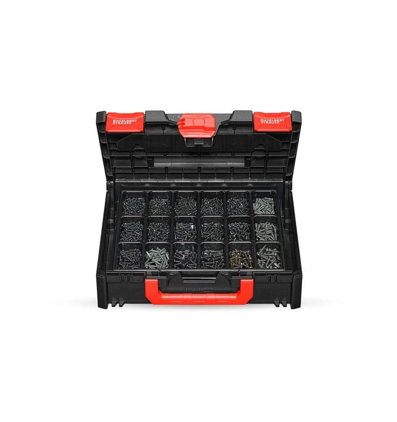 Schroeven: Plaatschroeven DIN 7981 zw. gebruineerd STRAUSSbox