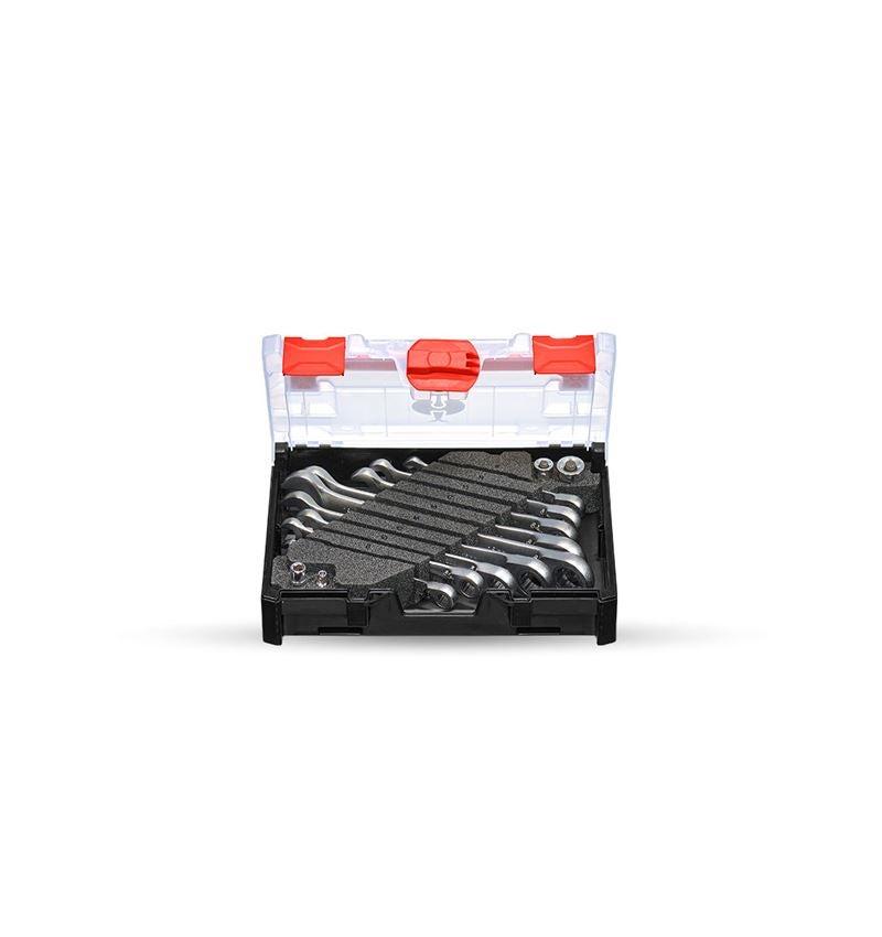 Schroefsleutels: Ratsch-Tech-set omschakelbaar in STRAUSSbox mini