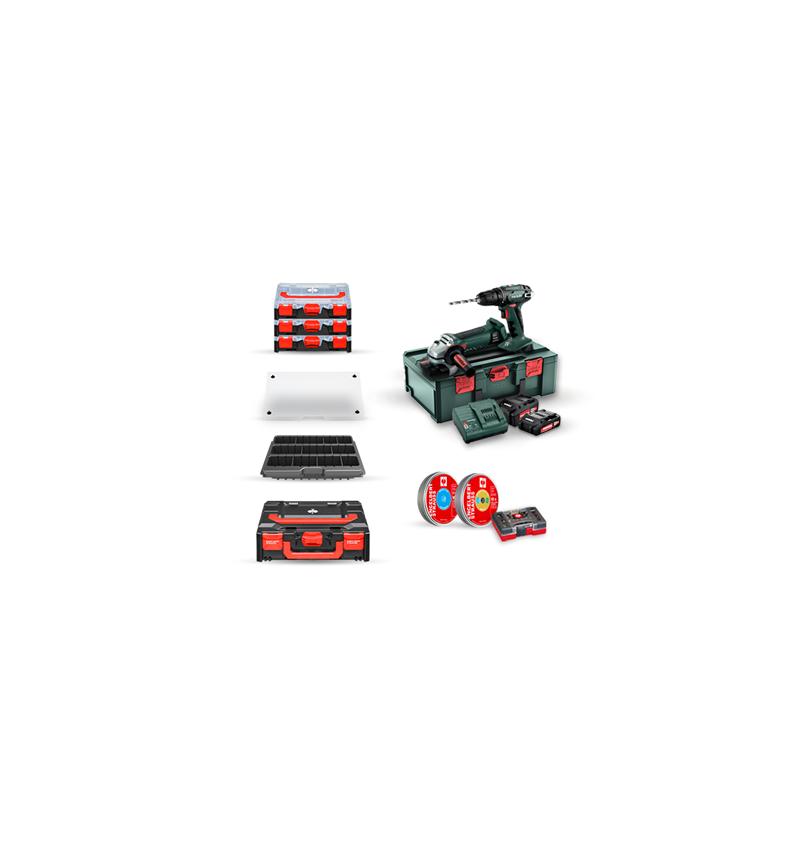 Elektrische gereedschappen: Metabo 18V accu-boors.+haakse slijper. set II