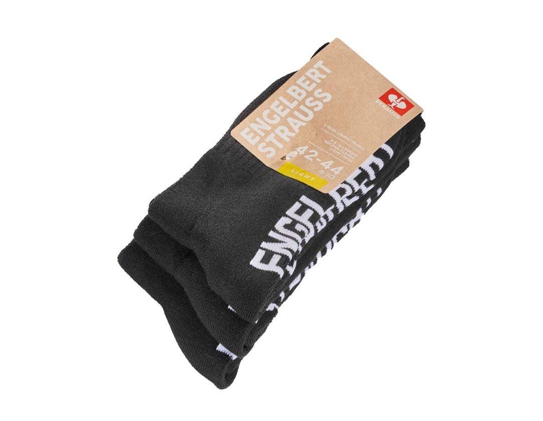 Sokken   Kousen: e.s. Allround-sokken Classic light/high + zwart