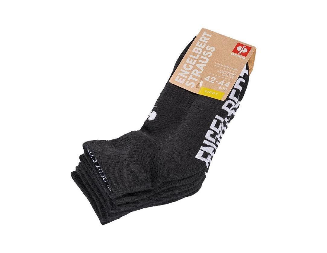 Sokken | Kousen: e.s. Allround-sokken Classic light/mid + zwart